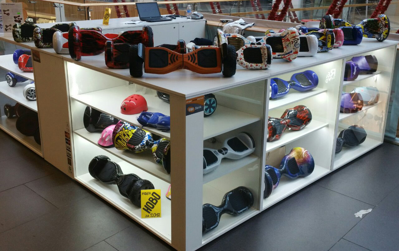 Hoverdream shop in Grand Mall Varna