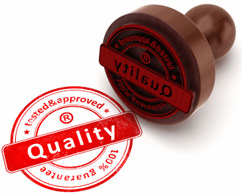 All products sold by us pass quality control